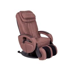 aktivshop Massagesessel Massagesessel Komfort Deluxe Stoff braun