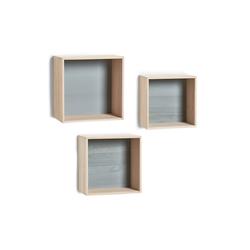 HTI-Living Wandregal Wandregal-Set 3-teilig Cubes, 3-tlg., Wandregale