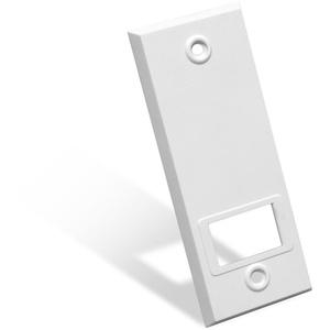 JAROLIFT Kunststoff Abdeckplatte für Gurtwickler/Lochabstand: 104 mm/Farbe: weiß