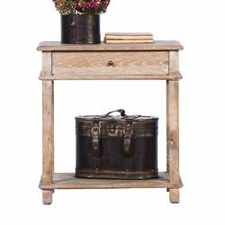 Nachttisch aus Eiche antik 60 cm