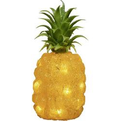 Konstsmide 6277-103 Acryl-Figur Ananas LED Orange, Grün