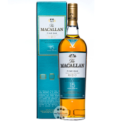 Macallan 15 Jahre Fine Oak Single Malt Scotch Whisky