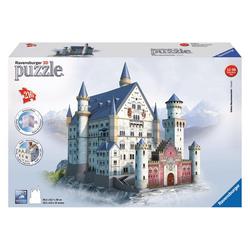 Ravensburger 3D-Puzzle Bauwerke Schloss Neuschwanstein, 216 Puzzleteile