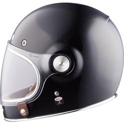 Bell Bullitt Solid Black Motorrad-Helm L