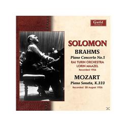 SOLOMON/MAAZEL/RAITURINORCH., SOLOMON/MAAZEL/RAI TURIN ORCH. - Solomon Spielt Brahms 1 (CD)