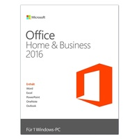 Microsoft Office Home & Business 2016 PKC DE Win
