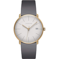 Junghans max bill Quarz Leder 38 mm 041/7857.04