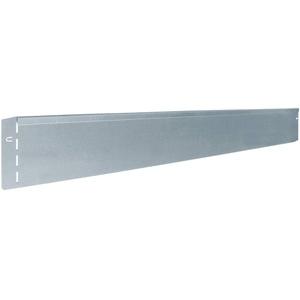 bellissa Rasenkante aus Metall - 7002 - Stahlblech feuerverzinkt, silberfarbig - 118 x 12,5 cm, Nutzlänge 17,25 m - Mit patentierter Verbindungstechnik
