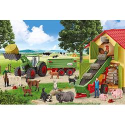 Schmidt FARM WORLD Heueinfahrt auf dem Bauernhof Puzzle 60 Teile
