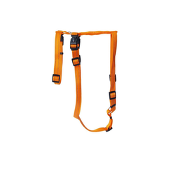 Wolters Hunde-Geschirr Ausbruchssicheres Soft & Safe No Escape, Nylon orange XS - 30 cm - 40 cm