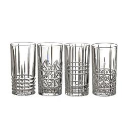 Nachtmann Longdrinkglas 4er Set Highland Longdrink Gläser 445 ml, Kristallglas