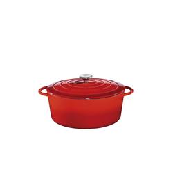 Küchenprofi Bratentopf Bratentopf Oval mit Deckel Provence Ø 35 cm