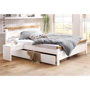 Home Affaire Bett In 4 Verschiedenen Liegeflachen Und 2 Farbkombinationen Weiss 140 200