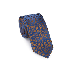 UNA Krawatte Krawatte - Pirlo - 6cm braun