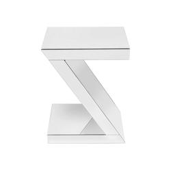 KARE Beistelltisch Beistelltisch Luxury Z Weiss 45x33cm