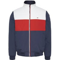 Tommy JEANS Essential Padded Jacket twillight navy/multi S