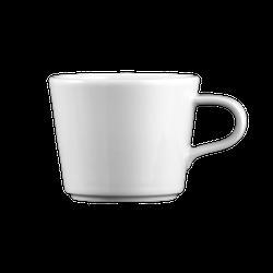Mandarin Kaffeetasse konisch 0,18 l weiß