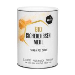 nu3 Bio Kichererbsenmehl 400 g Pulver
