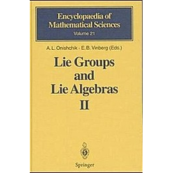 Lie Groups and Lie Algebras: Vol.2 Lie Groups and Lie Algebras II - Buch