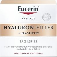 Eucerin Hyaluron-Filler + Elasticity Tagespflege Creme LSF 15 50 ml