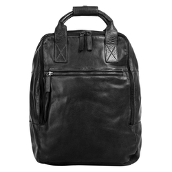 X-Zone Laptoprucksack, erweiterbar schwarz