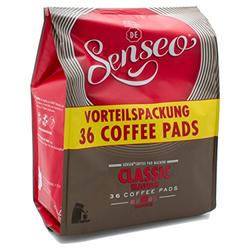 Senseo Classic Großpackung 36 Kaffeepads Arabica Robusta 250g