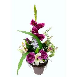 Kunstpflanze Gladiolen, I.GE.A., Höhe 56 cm