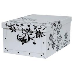KREHER Aufbewahrungsbox Barock Weiß weiß