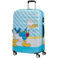American Tourister Wavebreaker Disney 4-Rollen Trolley 77 cm donald blue kiss