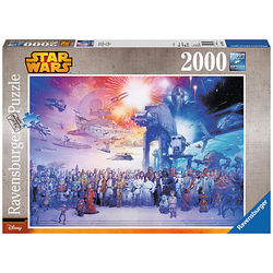 Puzzle 2000 Teile, 98x75 cm, Star Wars Universum