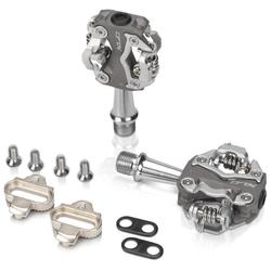 XLC Fahrradpedale XLC System-Pedal MTB PD-S15 grau