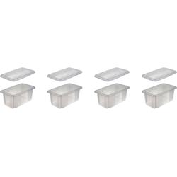 keeeper Aufbewahrungsbox emil (Set, 4 Stück) weiß