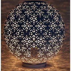 Guru-Shop Tischleuchte Metall Tischlampe in marrokanischem Design,..