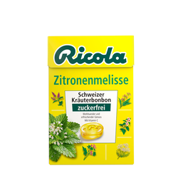 RICOLA Box Zitronenmelisse Bonbons ohne Zucker