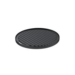 RÖSLE BBQ Grillplatte 30 cm Gusseisen emailliert für VARIO-Grillrostsystem