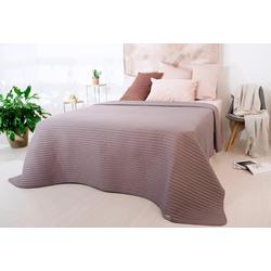 Tagesdecke Living Trend, SEI Design braun 260 cm x 240 cm