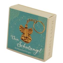 Schlüsselanhänger Engel auf Wolke in Schachtel Dein Schutzengel