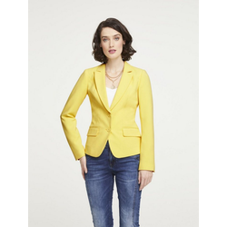 Blazer in taillierter Form gelb 42