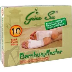 BAMBUSPFLASTER Gina Su Vitalpflaster 10 St