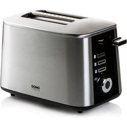 Domo DO972T Toaster Edelstahl Turbo