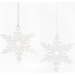 Fabriano Dekohänger Eiskristall Nerea (Set, 2 Stück), Ø 12 cm