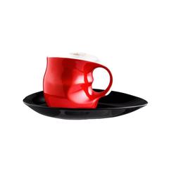 Colani Tasse Luigi Colani Kaffee-/ Cappuccinotasse rot