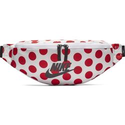 Nike Heritage Hip - Hüfttasche White/Red