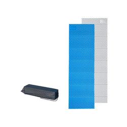 Naturehike Isomatte Ultraleichte Camping Isomatte, Einzelne Schlafmatte, Ultraleicht, Wasserdicht, klappbar, 185x56x1,8 cm, Blau blau