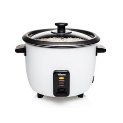 Tristar Reiskocher, 300 W, Sushi Reis Kochautomat klein & Gemüse-Dampfgarer Topf im Mini Format, Schnell-Kocher Dampfkocher