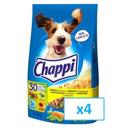 Chappi mit Geflügel und Gemüse 4x 2.7 kg