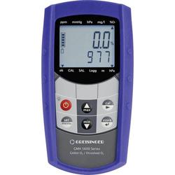 Greisinger GMH5650 Kombi-Messgerät O2-Konzentration, O2-Sättigung, Temperatur, Druck