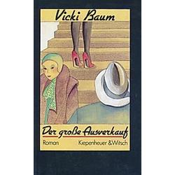 Der große Ausverkauf. Vicki Baum  - Buch