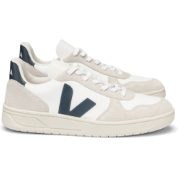 Veja - V 10 B Mesh White Nautico W - Sneakers - Größe: 40