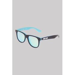 CAMP DAVID Sonnenbrille (ca. 17 x 15 x 15 cm) Print blau